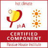 Certified Passivhaus Component_ Hot climate