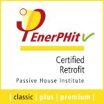 Certified EnerPHit seal