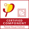 Certified Passivhaus component